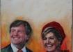 staatsieportret Koning Willem Alexander en koningin Maxima